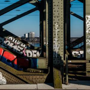 Kunst Fotografie Hohenzollernbrücke