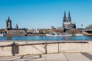 Kunst Fotografie Kölner Dom und Groß St. Martin