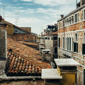 Dächer Venedig Terrakotta Künstler Lagunenstadt
